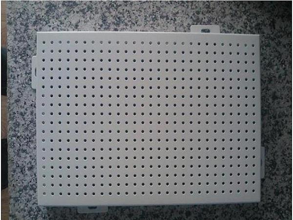 穿孔氟碳鋁單板