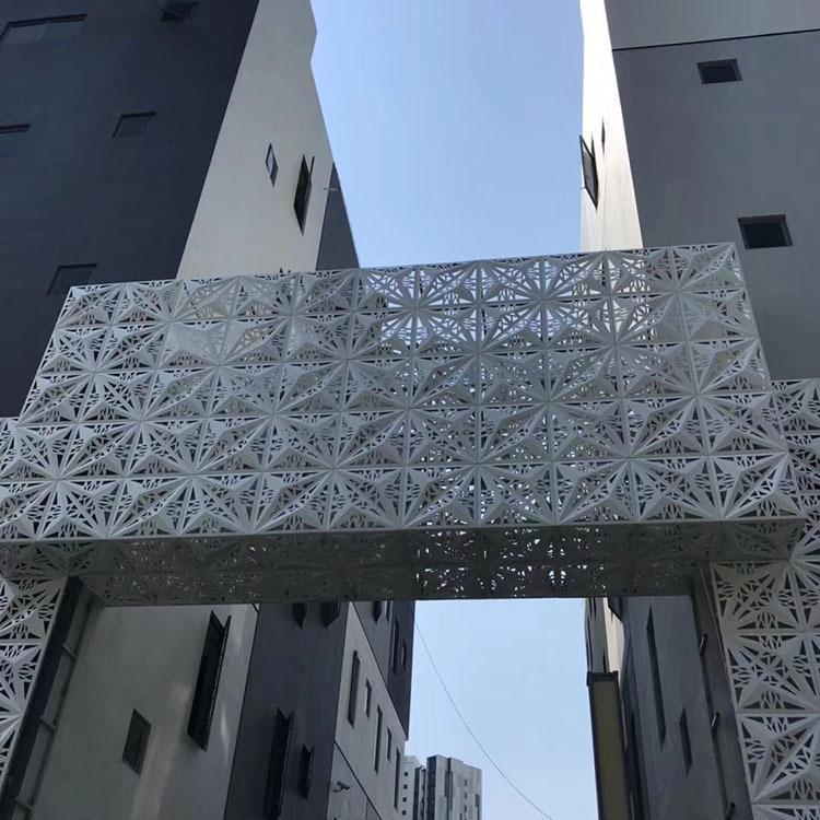 鋁單板商場門頭用什么款式的好看一點