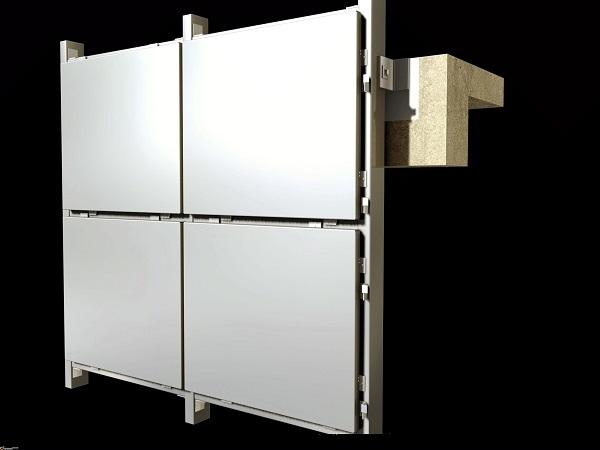 铝方通吊顶与铝单板的搭配应用可相当美观
