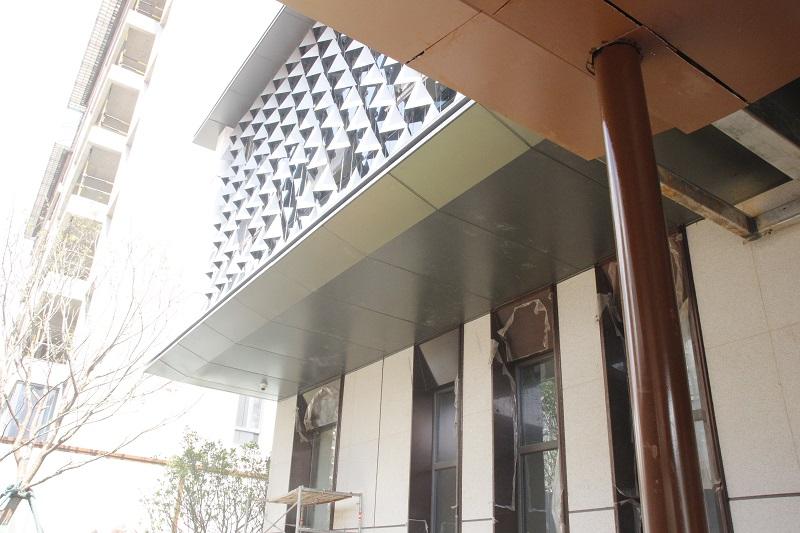 铝单板幕墙的铝板安装流程中的施工准备工作