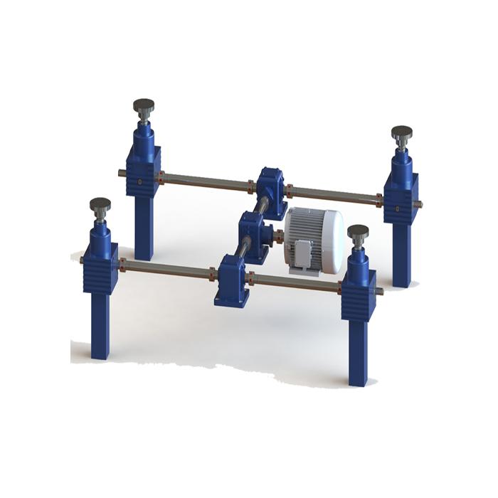 丝杆升降机联动平台