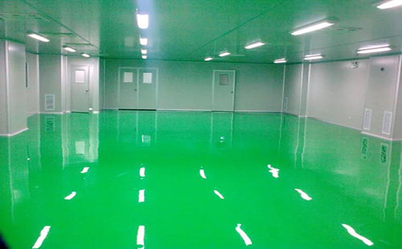 四川西部邦泰电子厂区建设无尘净化车间完工