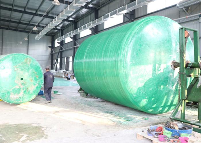 工业缠绕玻璃钢化粪池