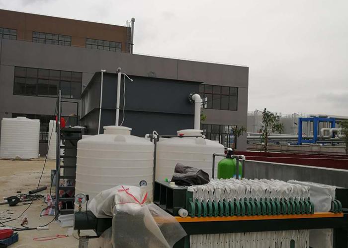 莆田市龙腾电子有限公司线路板废水处理