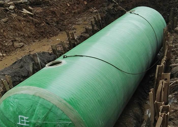 三盛托斯卡纳环保型玻璃钢化粪池预埋