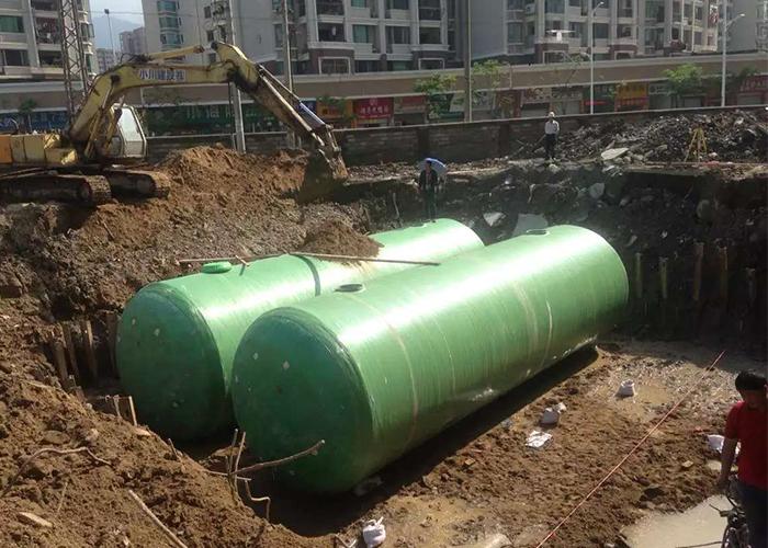 平潭福利院环保一体式化粪池工程
