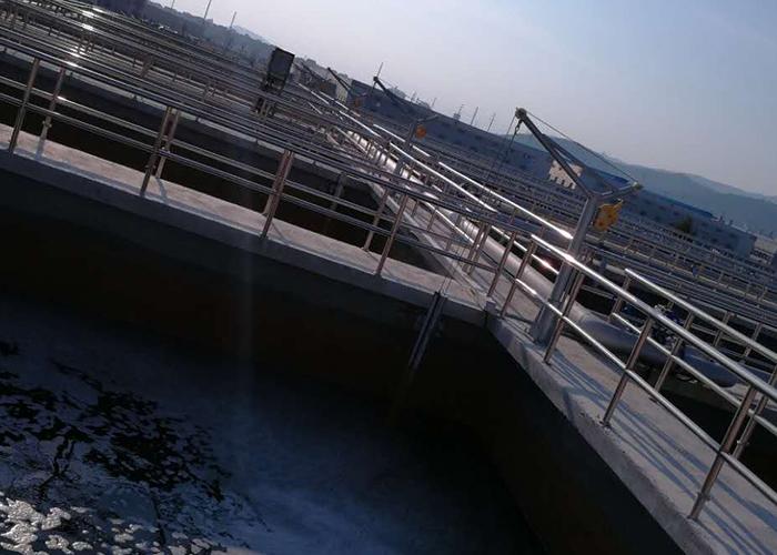宁德古田福利印染厂废水处理