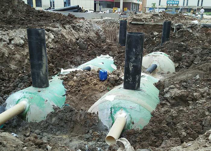 福州洪塘安置房小区化粪池安装