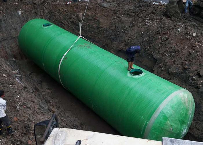 福建省信通国际一体化化粪池池定制安装