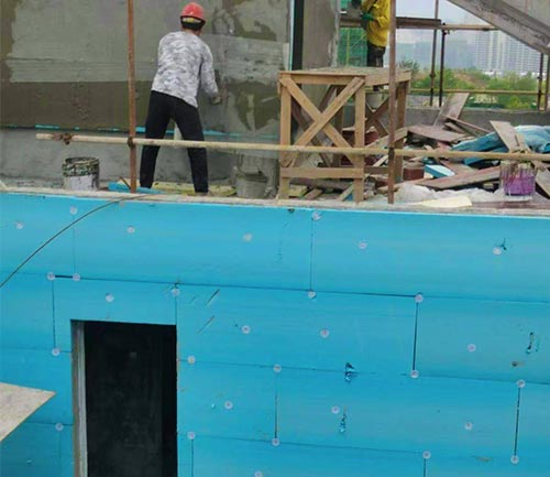 重庆xps挤塑板施工