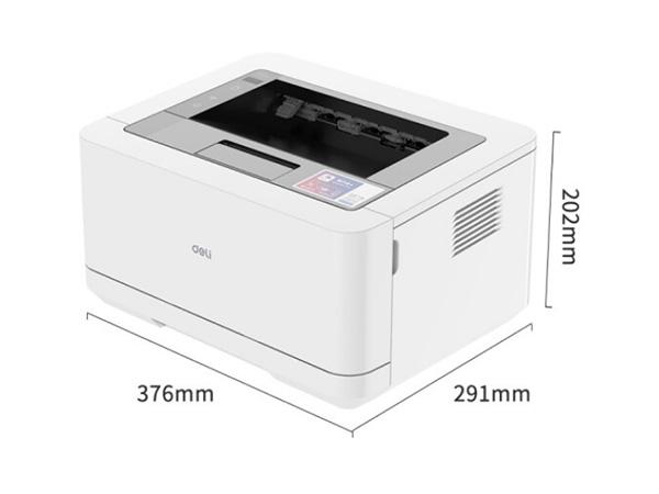 得力无线黑白激光打印机