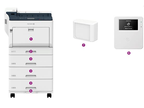 富士施乐C3555打印机
