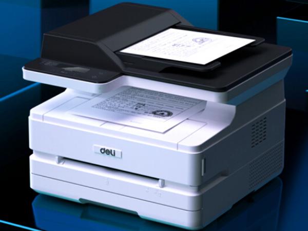 得力打印机复印扫描一体机