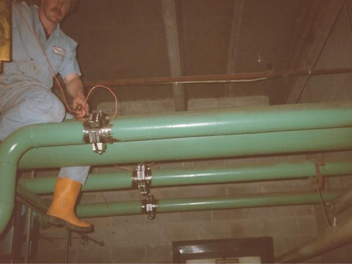 超磁水处理系统外国安装案例