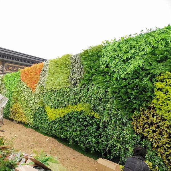 酒店仿真植物墙