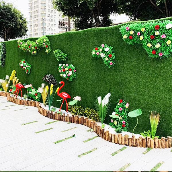 绿色植物墙