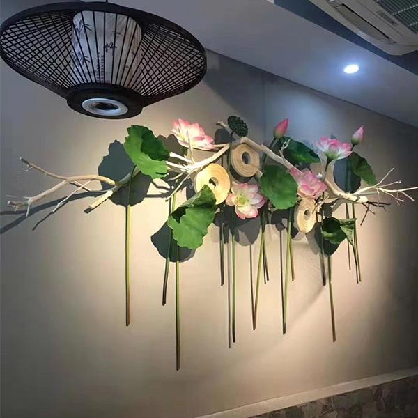 定西花艺软装厂家分享室内造景选仿真植物的好处?