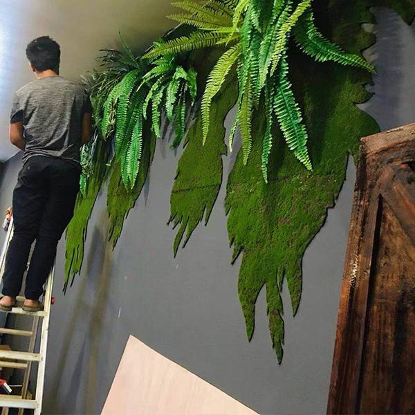 地产墙面绿植