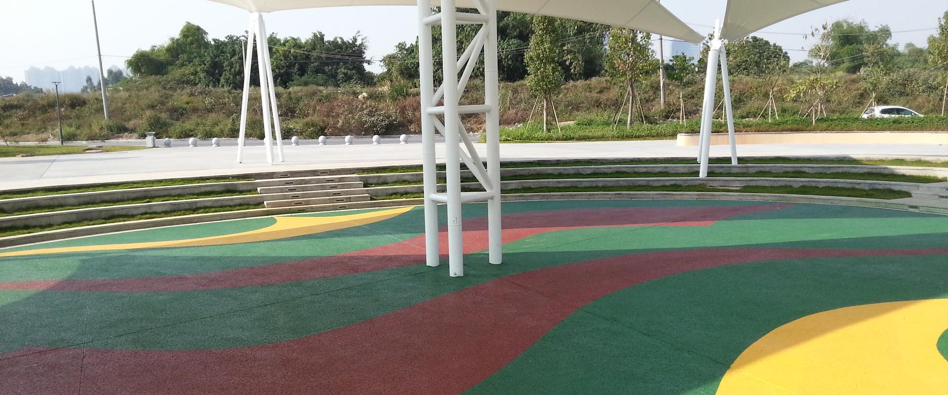 彩色透水地坪 —— 打造海綿城市的好幫手