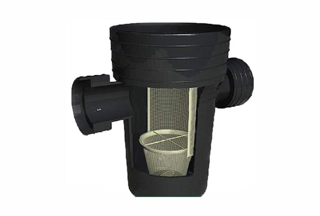 雨水截污掛籃裝置