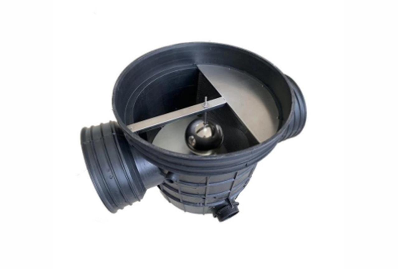 雨水收集-棄流過濾裝置
