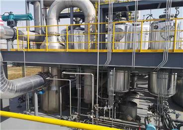 沿海工业废气处理