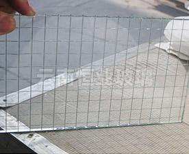 单面夹丝玻璃