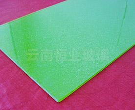 单层彩釉玻璃