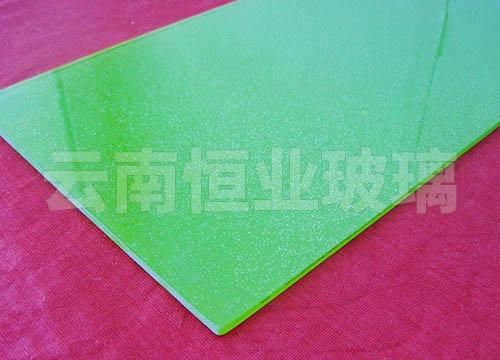 双层彩釉玻璃