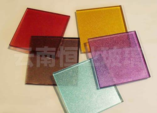 双层彩釉玻璃厂家供应