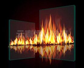 夹丝防火玻璃