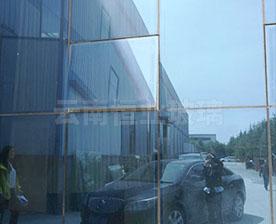 楚雄体育馆LOWE幕墙中空玻璃