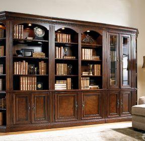 书房客厅实木定制