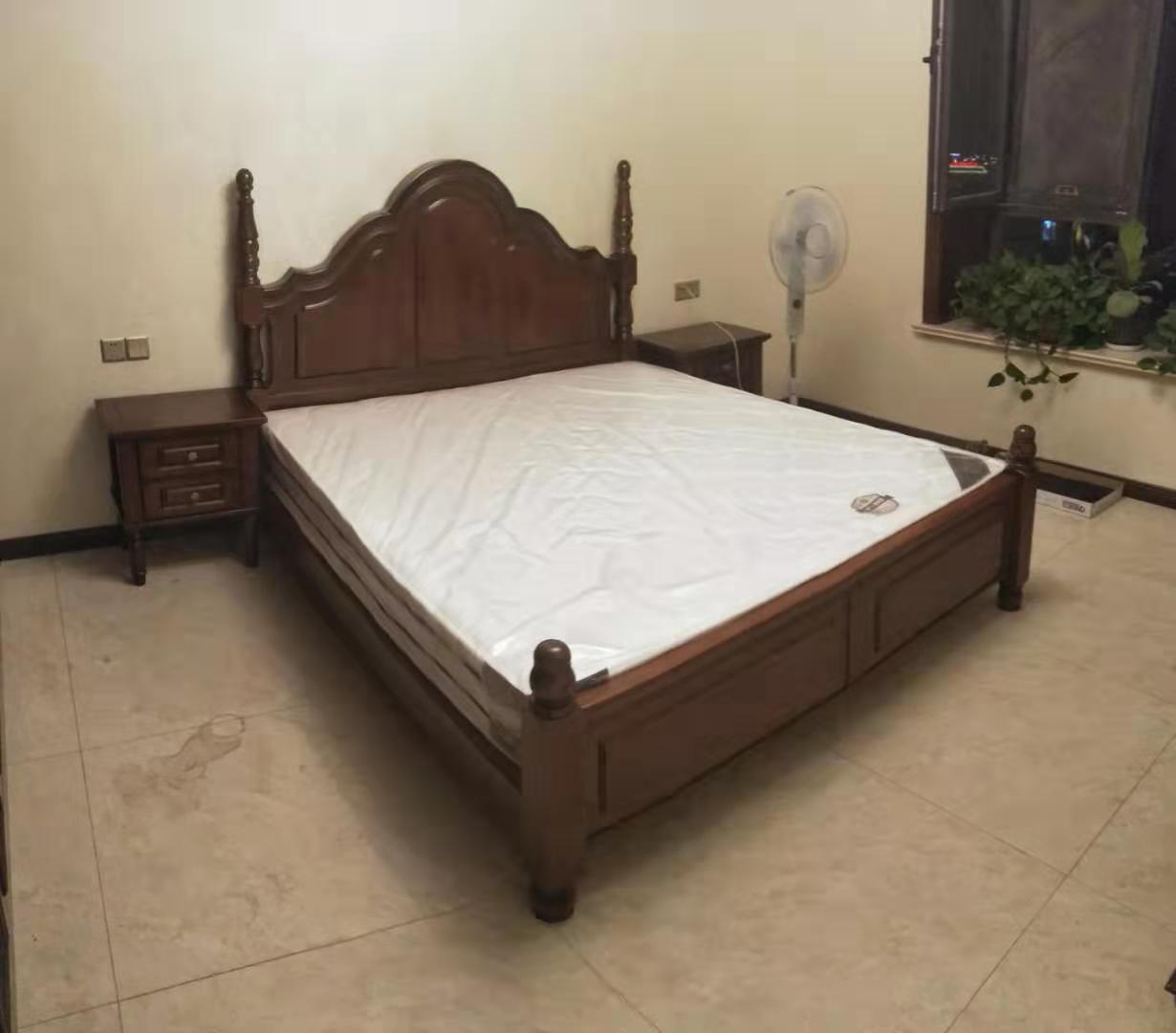 交城实木床工程案例