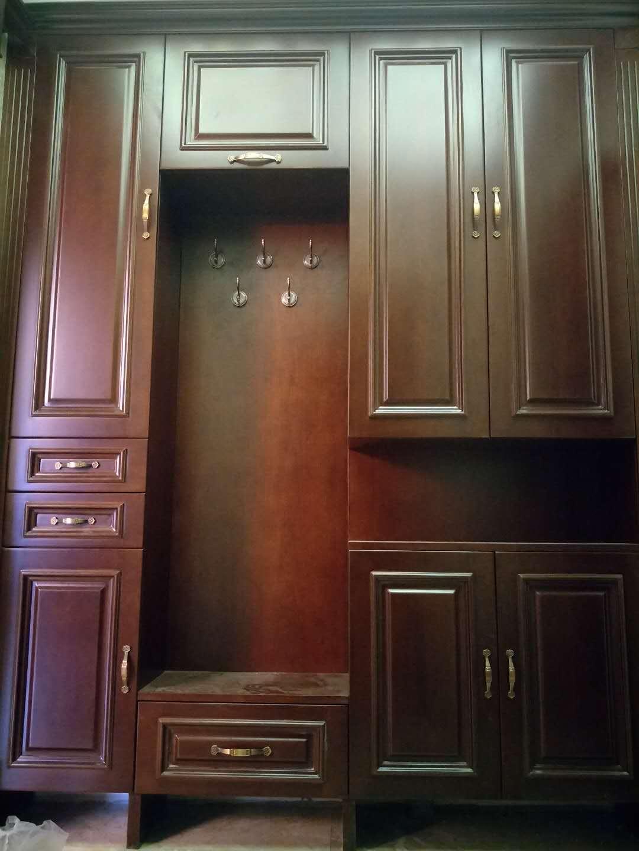 中隐11号楼整体衣柜定制案例