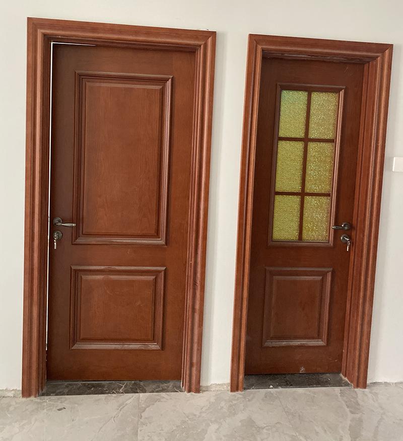罗马花园室内套装门定制案例
