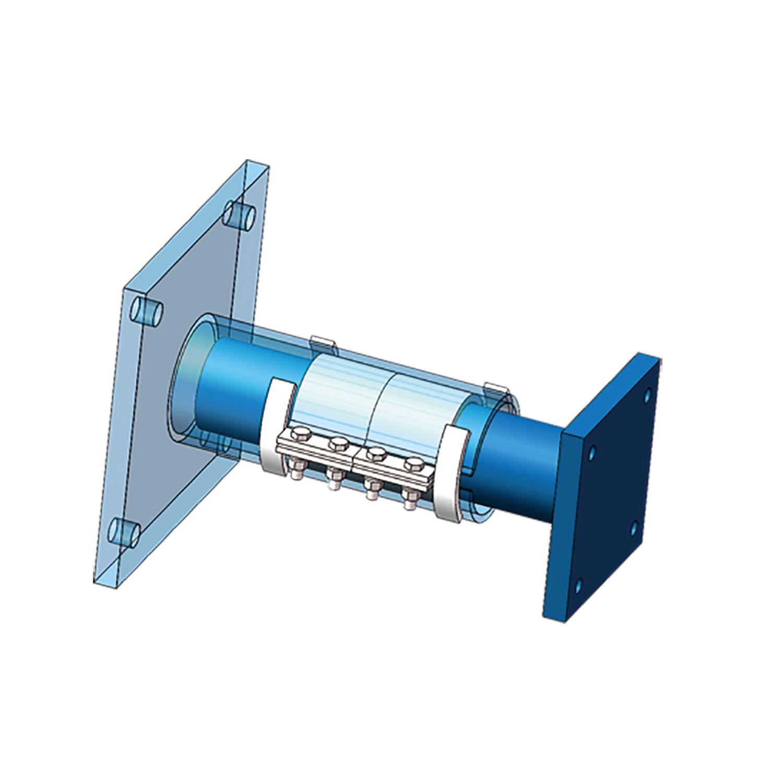 筒式摩擦阻尼器