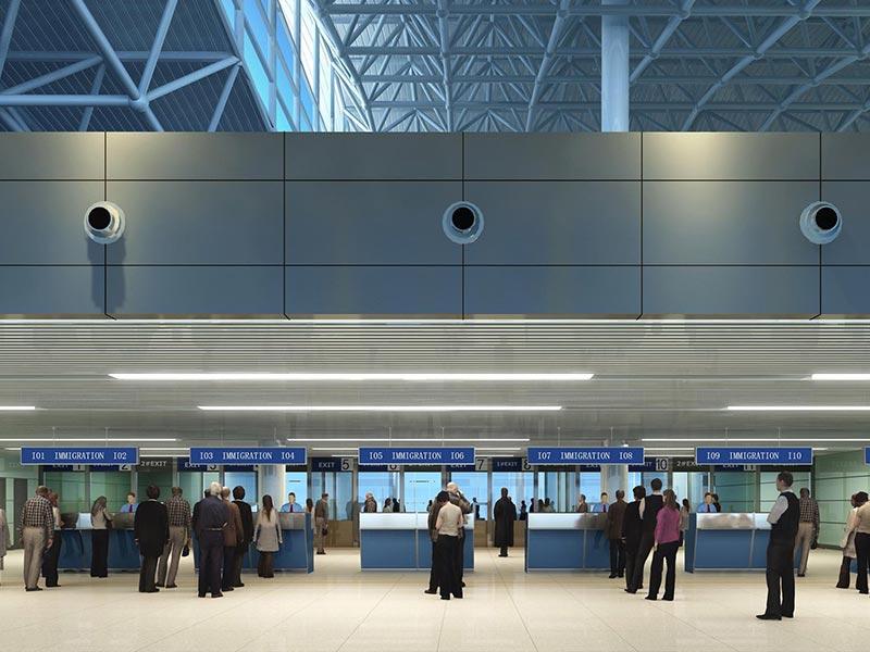 机场抗倍特板装修效果图