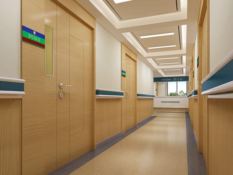 病房洁净板安装效果图展示