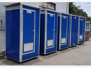 連排移動廁所