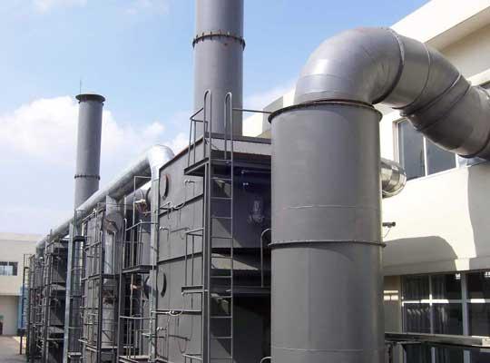 蓄热式氧化法处理VOCs有两床式、三床式以及旋转式RTO