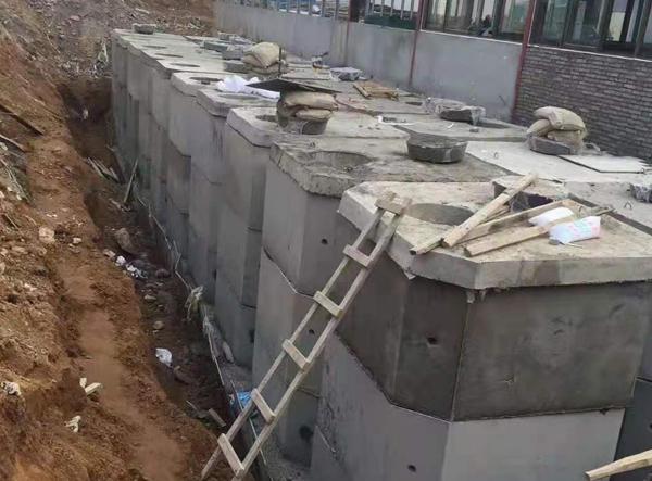 混凝土化粪池案例展示