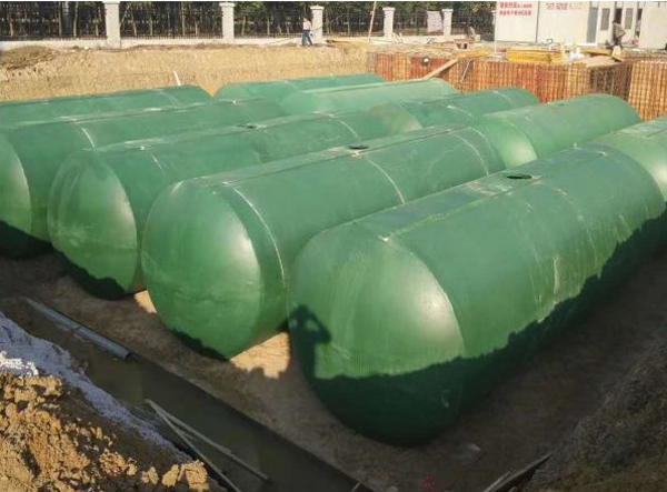 海绵城市雨水收集与回用系统
