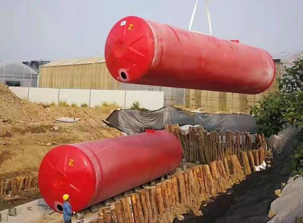 整体化消防水池