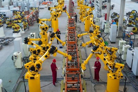 食品行业机器人防护服特点