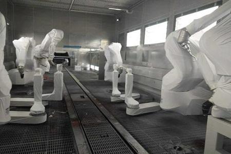 喷涂机器人防护服适用