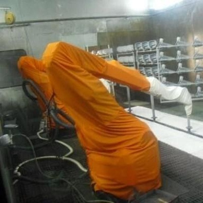 防水耐酸碱机器人防护服