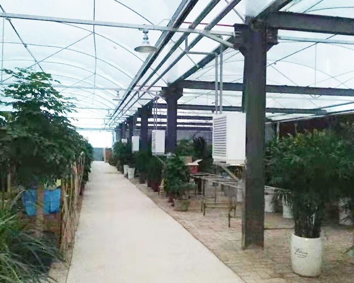 济南温室大棚空气源热泵采暖工程
