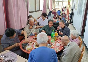 老人聚餐活动