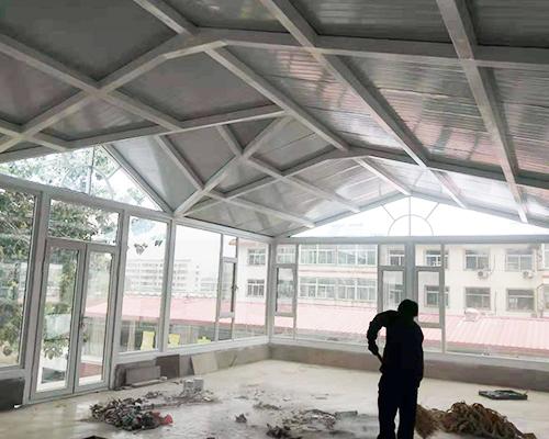 忻州原平農學院(斷橋鋁門窗)